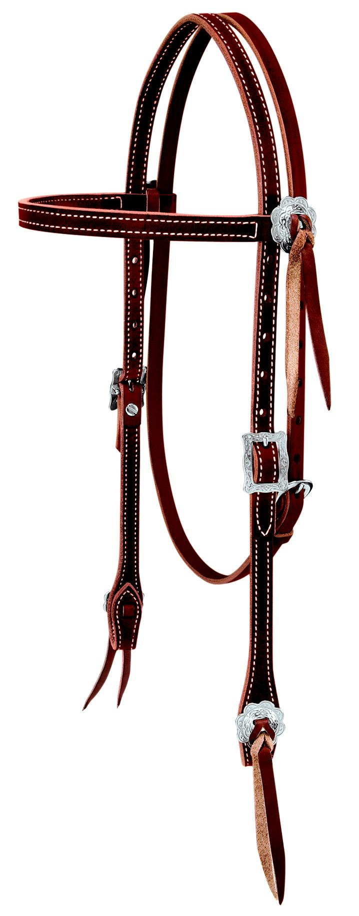 Weaver Leather Stockman Brow Bandheadstall
