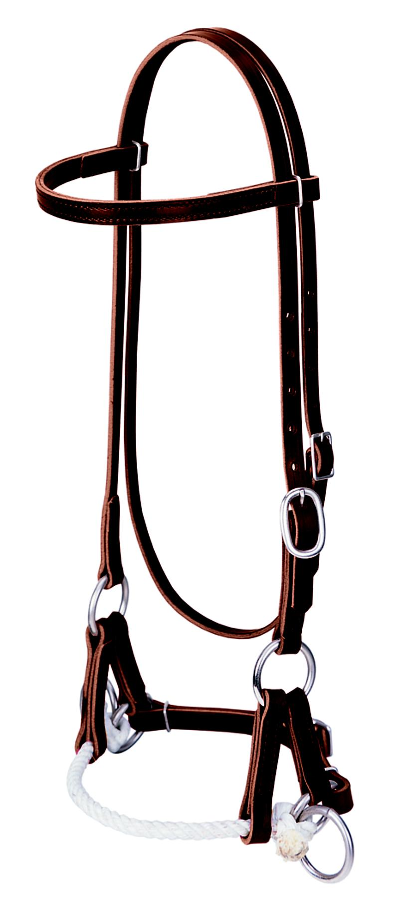 Weaver Leather Side Pull Bridle Headstall