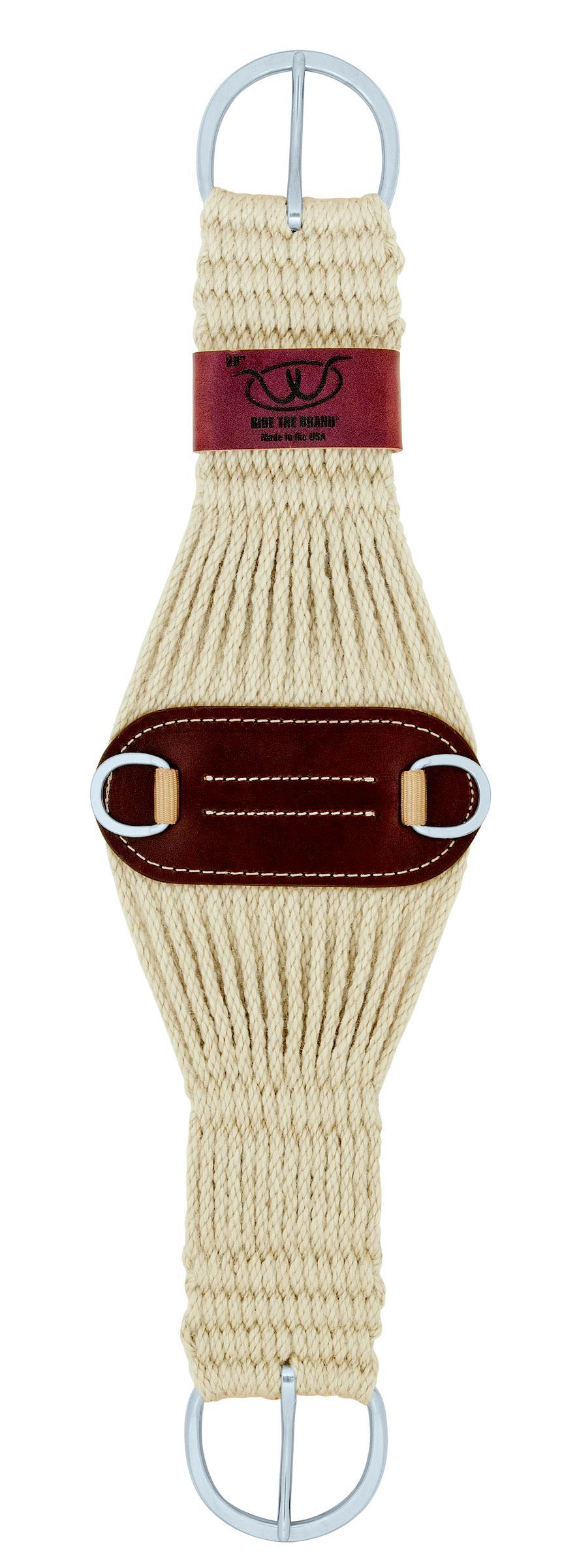 Weaver Leather Roper 100% Mohair Cinch