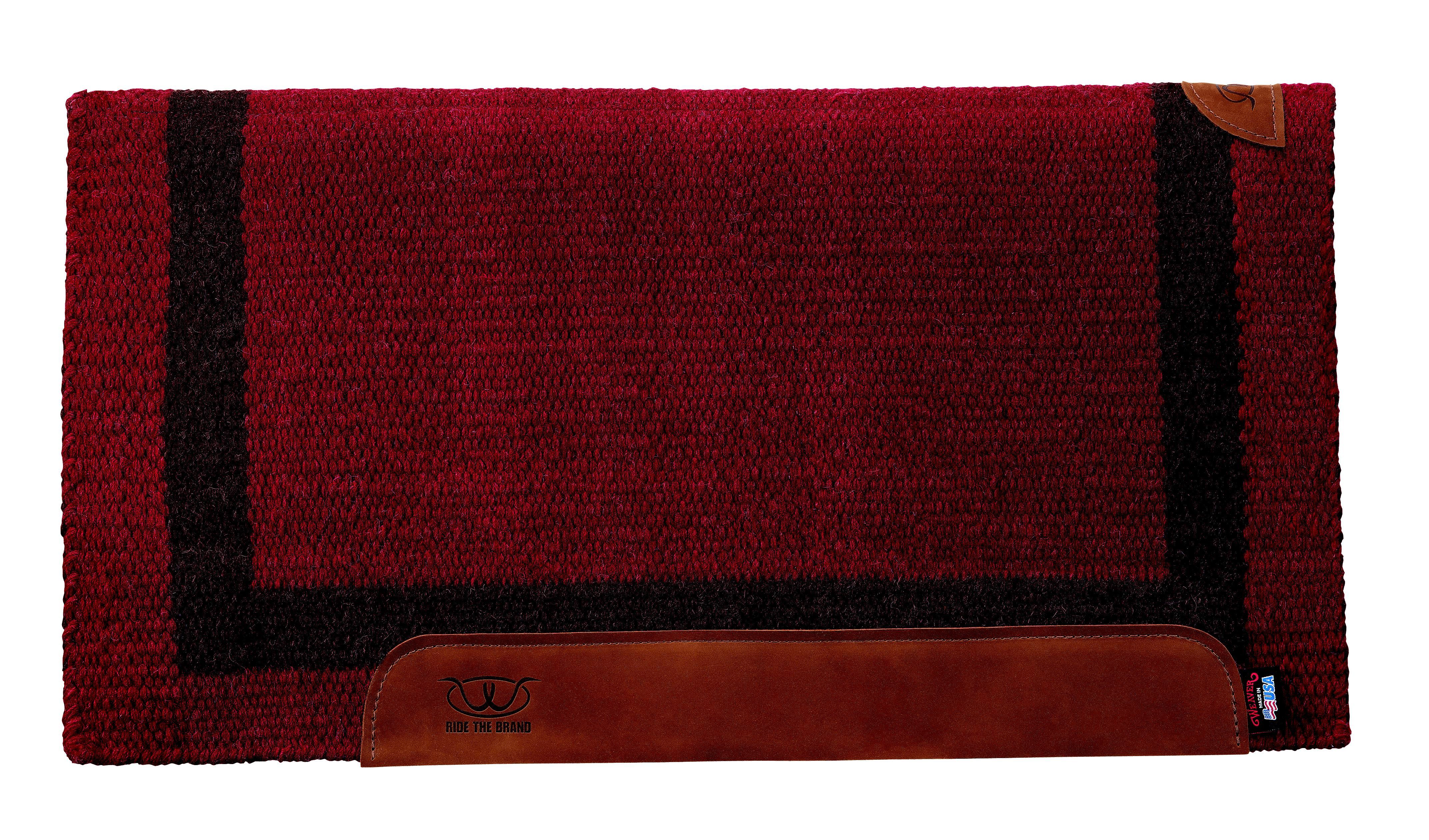 Weaver Leather Memory Foam & Felt Saddle Pad