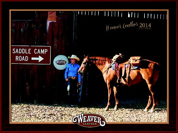 Weaver Leather 2014 Weaver Equine Calendar
