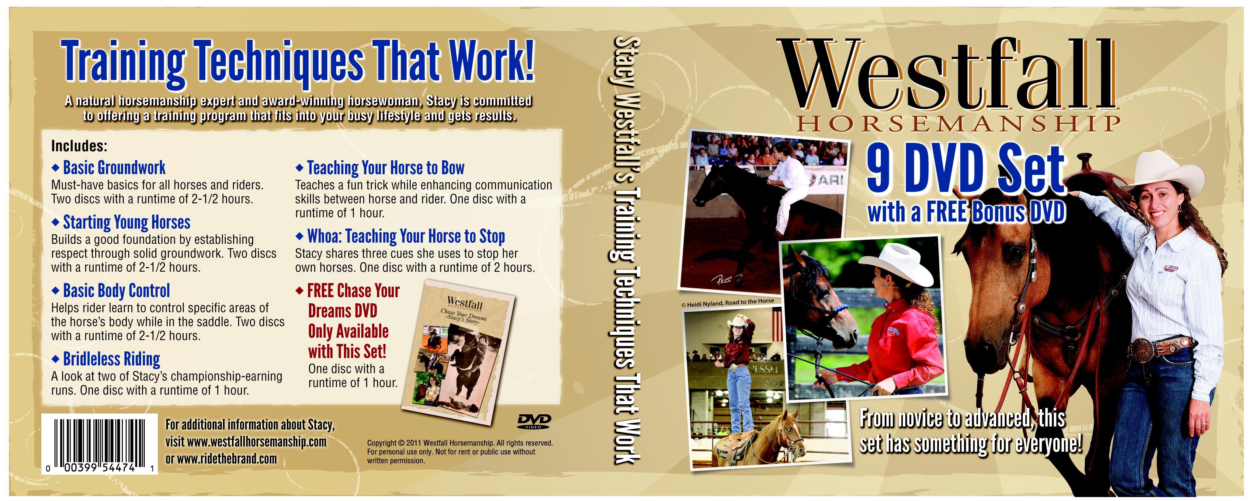 Weaver Leather Stacy Westfall Training Dvd Set