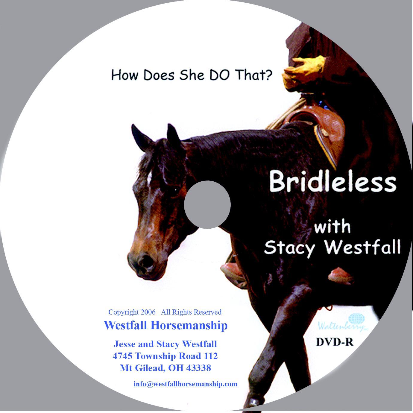Weaver Leather Bridleless Riding Dvd
