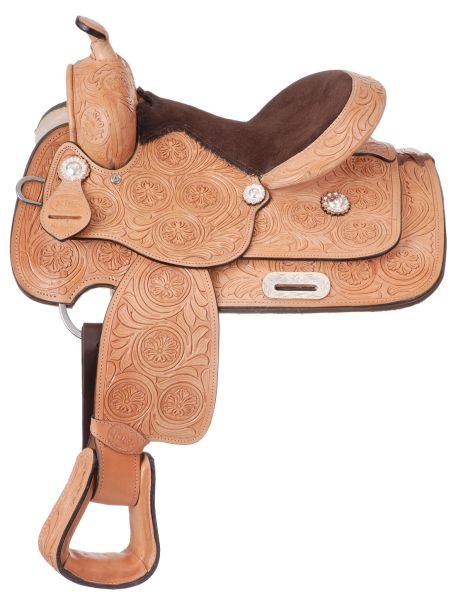 King Series Hawkins Silver Youth Show Saddle Package
