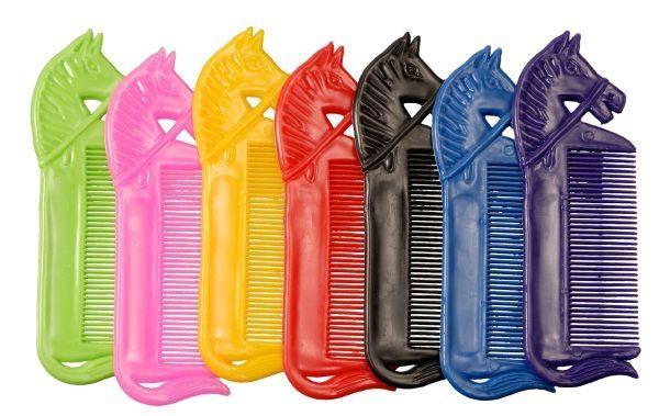 Tough-1 Horsehead Mane Combs - 12 Pack