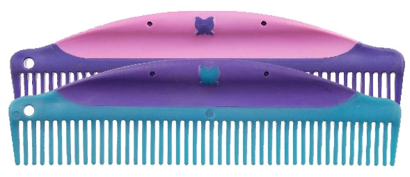 Tough-1 8 3/4 Butterfly Easy Grip Combs - 6 Pack