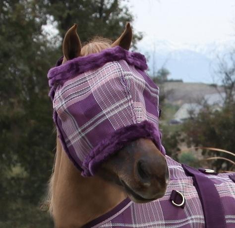 Kensington Protective Fly Mask with Fleece - Mini