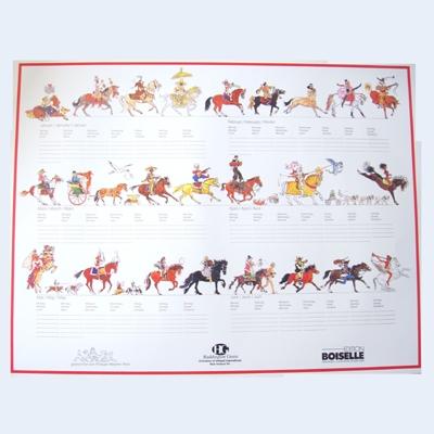 Perpetual Calendar (4 pack)