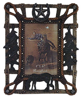 Gift Corral Horseshoe and Star Frame