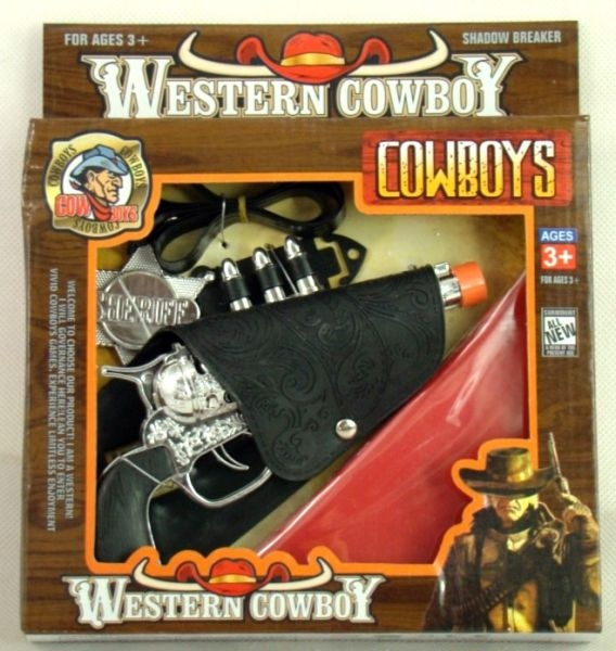 Gift Corral Pistol with Holster and Bandana