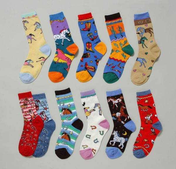 Gift Corral Adult Western Socks