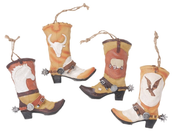 Gift Corral Cowboy Boot Ornament