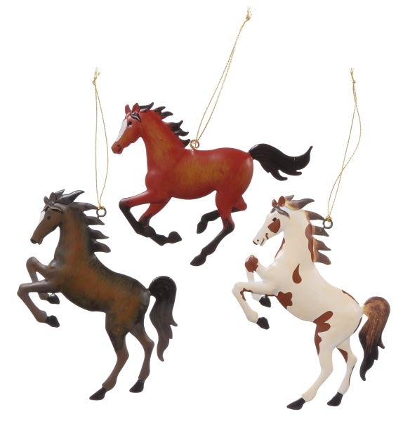 Gift Corral Horse Ornaments