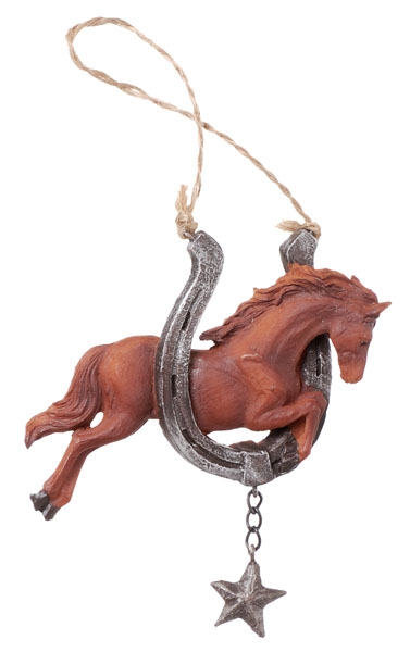 Gift Corral Western Saddle Ornament