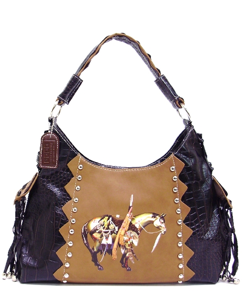The Trail of Painted Ponies Handbag - Medicine Horse