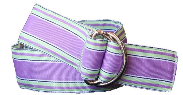 EOUS Embroidered Ribbon Belt