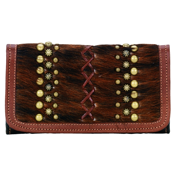 AMERICAN WEST River Rock Ladies Tri-Fold Wallet