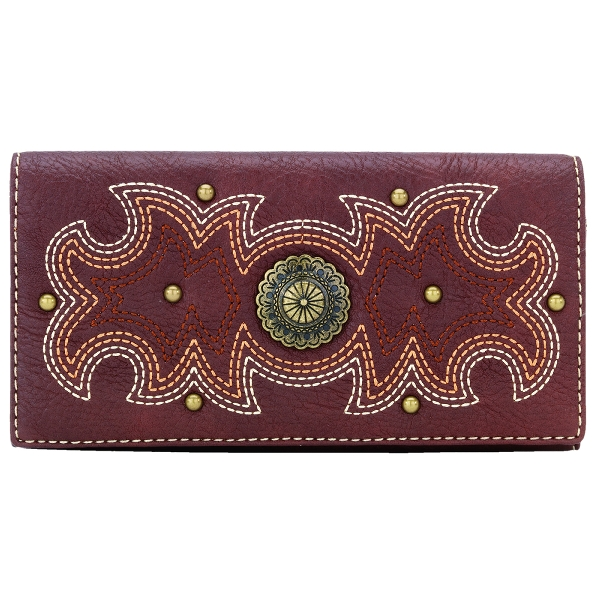 BANDANA Sheridan Flap Wallet