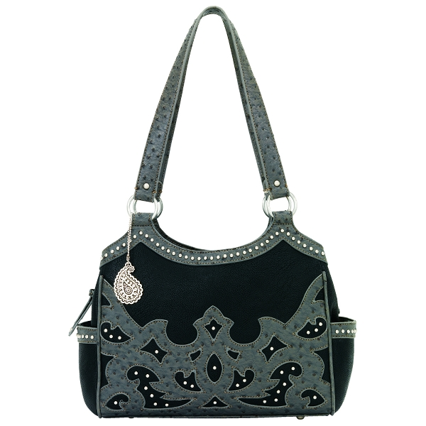 BANDANA Sugarland 3 Compartment Scoop Top Tote Handbag