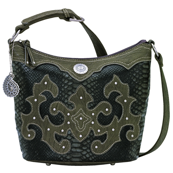 BANDANA Monterey Bucket Shoulder Bag Handbag