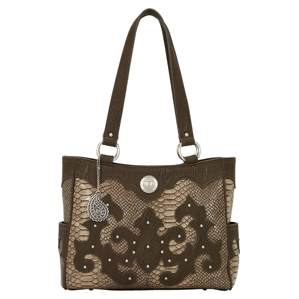 BANDANA Monterey 3 Compartment Tote Handbag