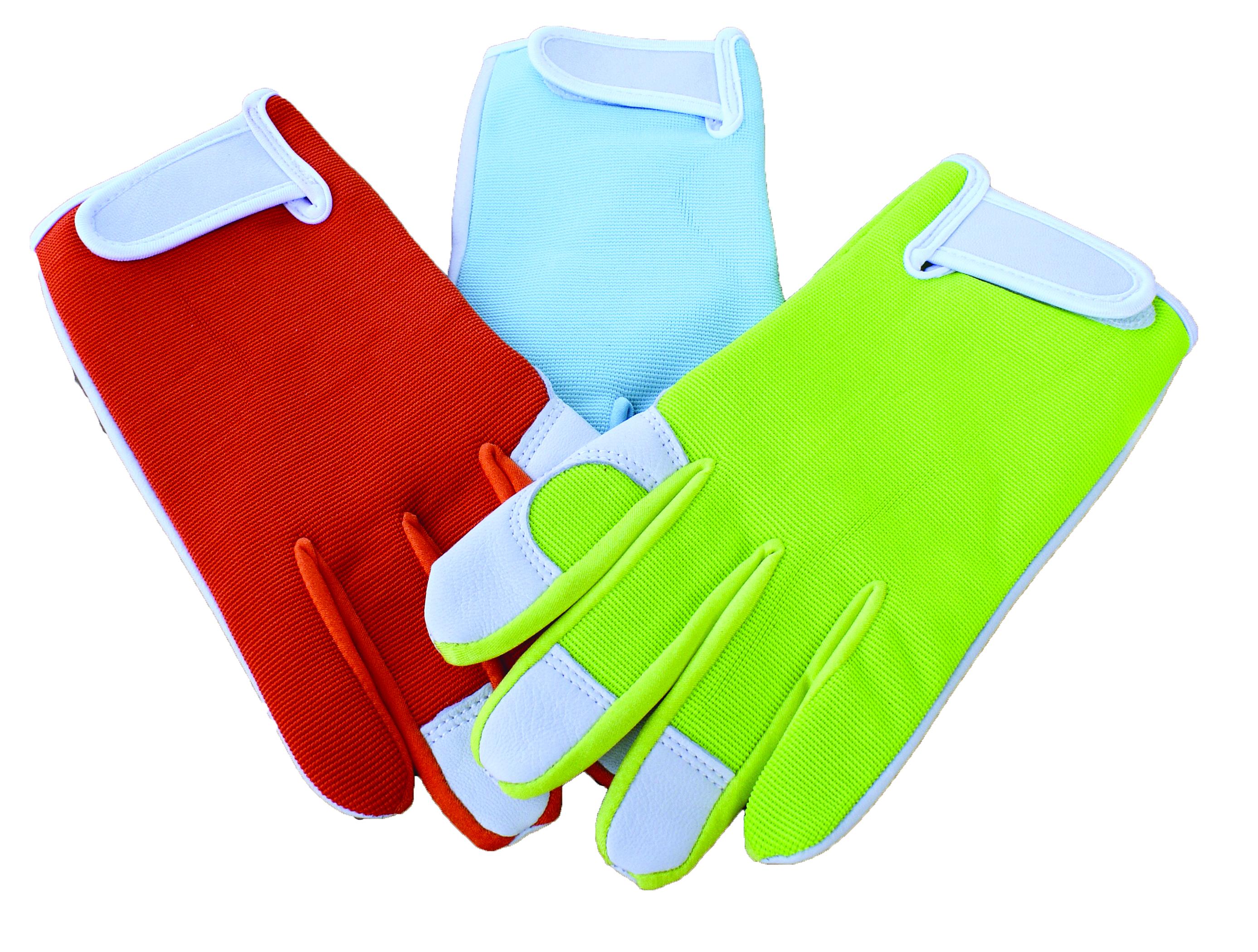 Goatskin Palm Spandex Gloves - Ladies'