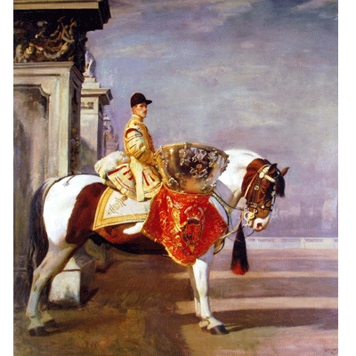 Drum Horse By: Alfred Munnings