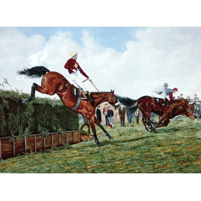 Red Rum By: Brian Tovey, Matted