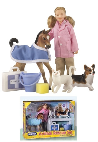 Breyer Classic Animal Rescue Set