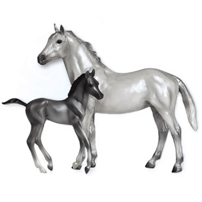 Breyer Classic Thoroughbred Set
