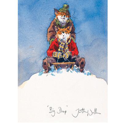 Christmas Cards - Big Drop - 10 Pack