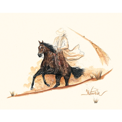 El Paso (Western Horse) By: Jan Kunster