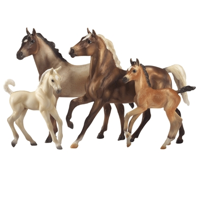 Breyer Traditional Series Cloud: Challenge of the Stallions 4-Horse Set