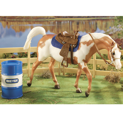 Breyer Classic Barrel Racing Set