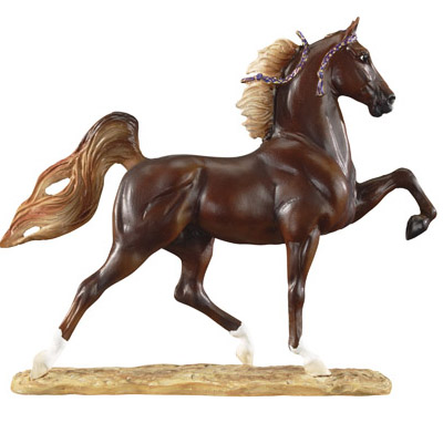 Breyer Resin Saddlebred Horse
