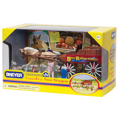 Breyer Stablemates Country Fair Wagon