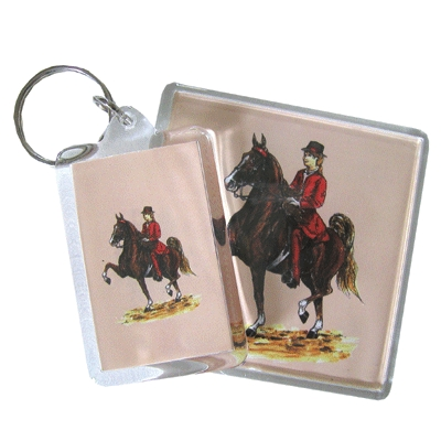 Acrylic Magnet - Saddlebred