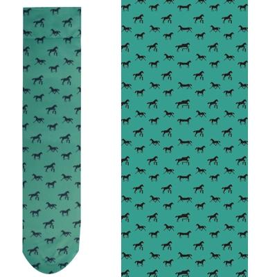 Intrepid Exclusive Horse Theme Socks - Jade