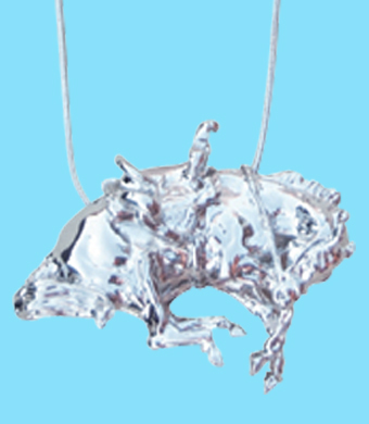 Bucking Bronco Pendant