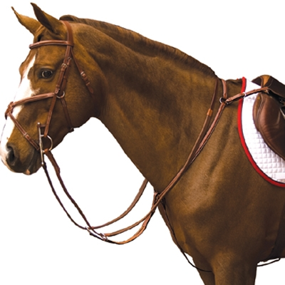 Exselle Elite Fancy Square Raised Running Breastplate