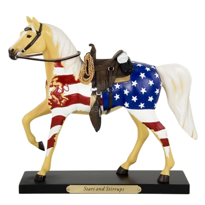 The Trail Of Painted Ponies - First Comes Freedom Figurine