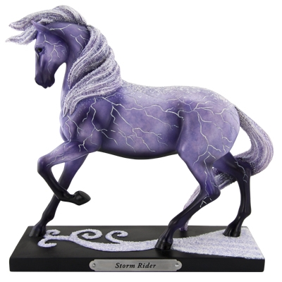 The Trail Of Painted Ponies - Storm Rider Figurine