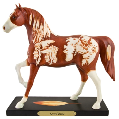 The Trail Of Painted Ponies - Sacred Paint Figurine