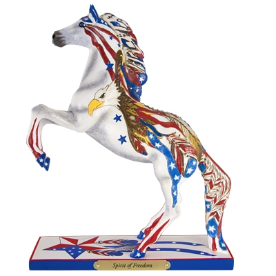 The Trail Of Painted Ponies - Spirit of Freedom Figurine