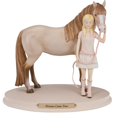 Horse Whispers Dreams Come True Figurine