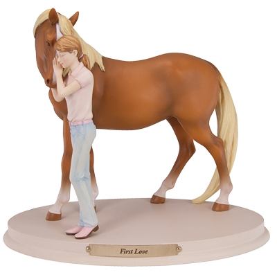 Horse Whispers First Love Figurine
