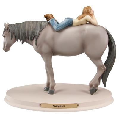 Horse Whispers Stargazer Figurine