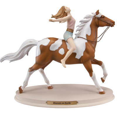 Horse Whispers Heaven on Earth Figurine