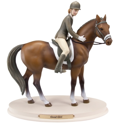 Horse Whispers Good Girl Figurine