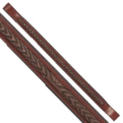 Fancy Stitched Laurel Leaf Brow Band